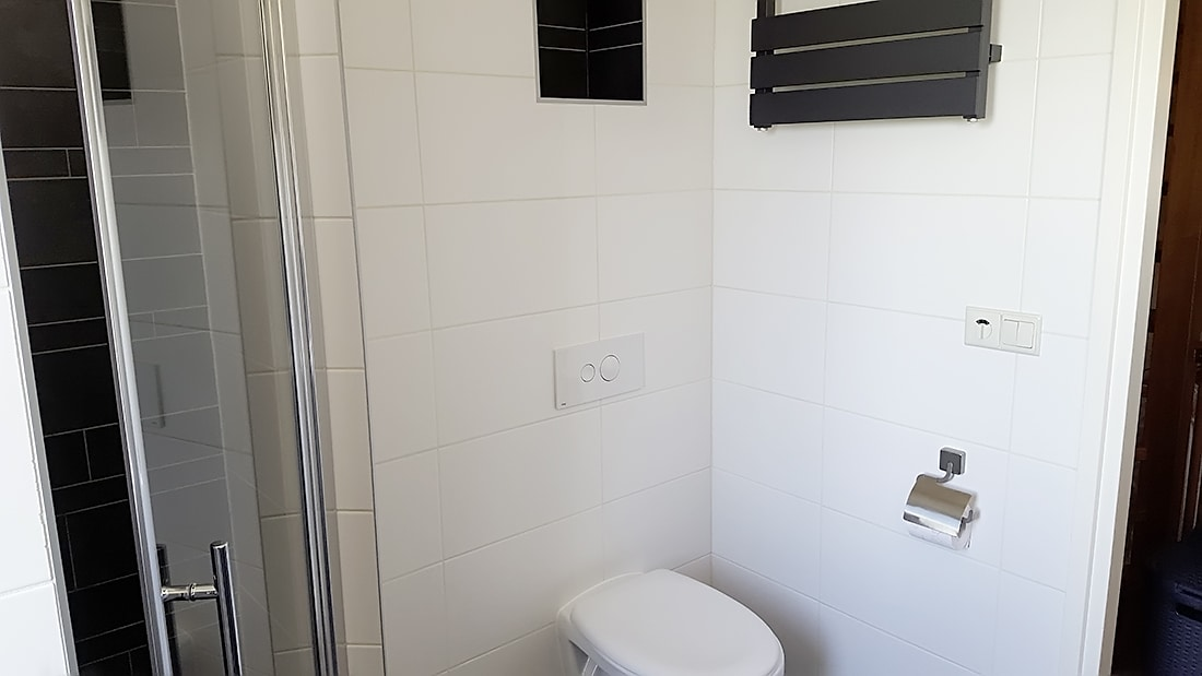 betegelen badkamer: badkamer vloer en wanden u2013, Badkamer